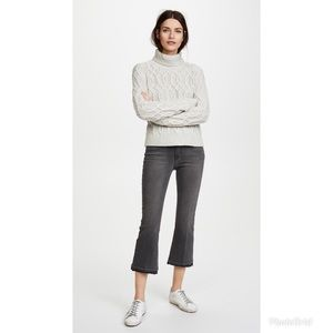 L'AGENCE Pacifica Cropped Baby Flare Jeans